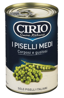 I Piselli (Medi, Fini e Finissimi)