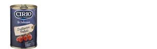 Datterini Cirio - formati disponibili