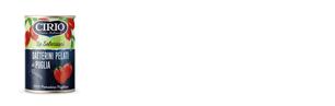 Datterini pelati di Puglia Cirio - formati disponibili