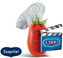 Scopri le Videoricette Cirio