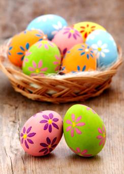 Cucinare con i bambini idee per pasqua e per la festa - Uova decorate per bambini ...