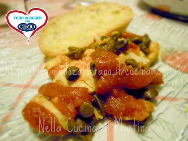 Ricetta filetti di pesce al pomodoro e capperi cirio - Al ta cucina ricette ...